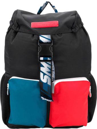 Stella McCartney Kids Black Backpack Smc