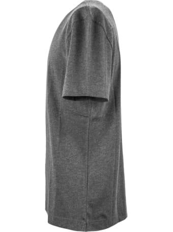 Brunello Cucinelli Grey Cotton T-shirt