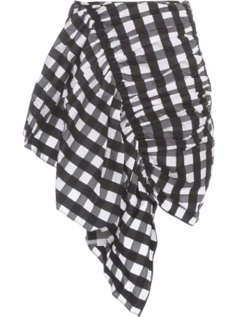 Marques'Almeida Skirt Gathered Mini