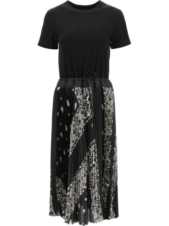 Sacai Bandana Print Dress