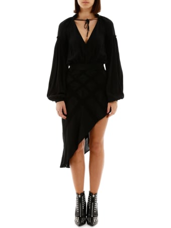 WANDERING Asymmetric Dress