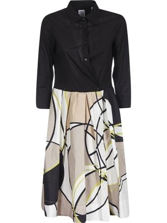 Sara Roka Buttoned Closure Dress