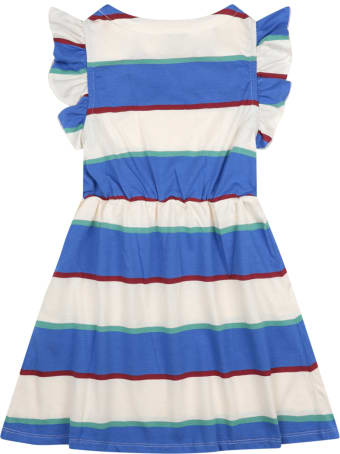 Bobo Choses Multicolor Dress For Girl With Logo