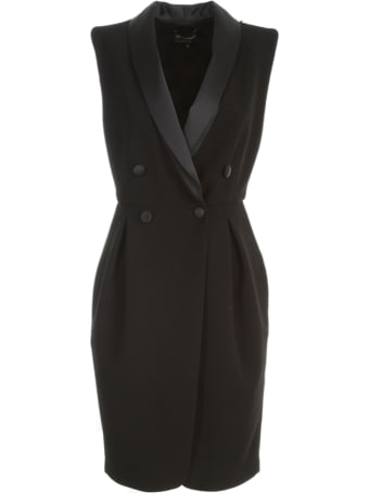 Emporio Armani Double Breasted Smoking Dress W/s