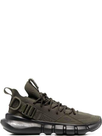 Neil Barrett Green Bolt Essence 2.3 Sneakers
