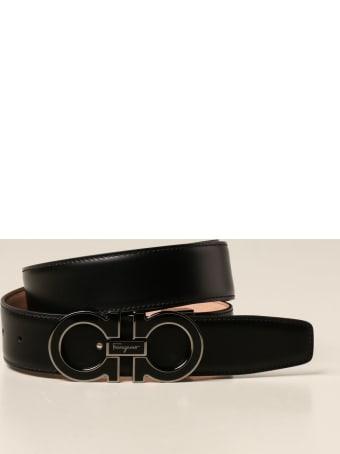 Salvatore Ferragamo Belt Salvatore Ferragamo Gancini Leather Belt