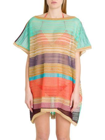 Missoni Multicoloured Stripes Cover-up