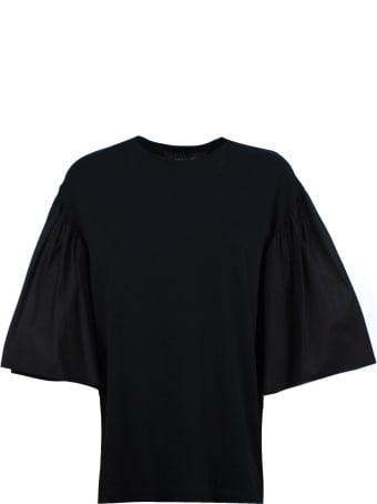 Federica Tosi Black Cotton T-shirt