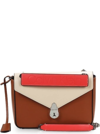 Calvin Klein Coral Mix Crossbody Bag