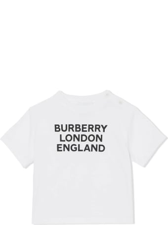 Burberry White Cotton T-shirt