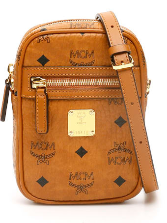 MCM Visetos Crossbody Mini Bag