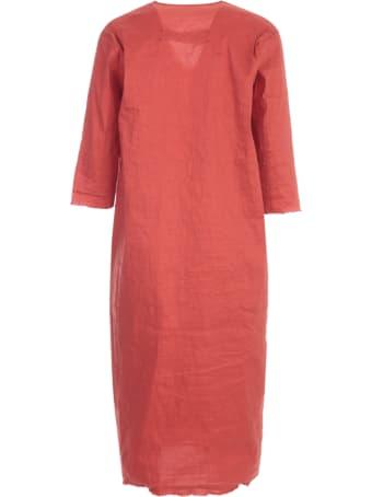 Uma Wang Ambrosia V Neck Long Dress