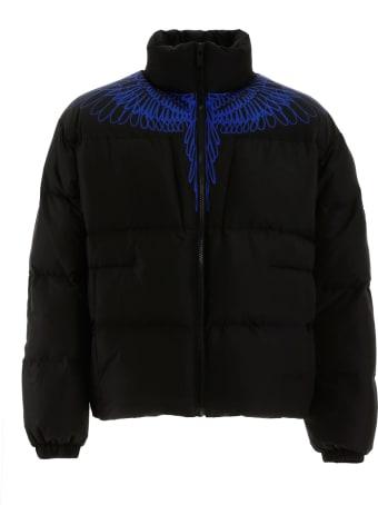 Marcelo Burlon Wings Print Puffer Jacket