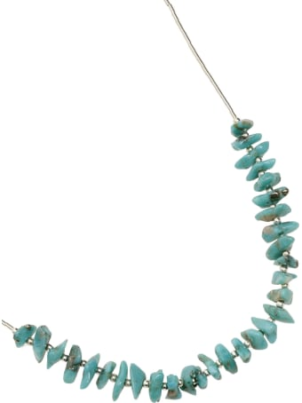 Jessie Western Silver Turquoise Power Necklace