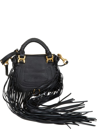 Chloé Mini Double Carry Tassel Detail Tote