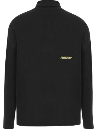 AMBUSH Black Cotton Jumper