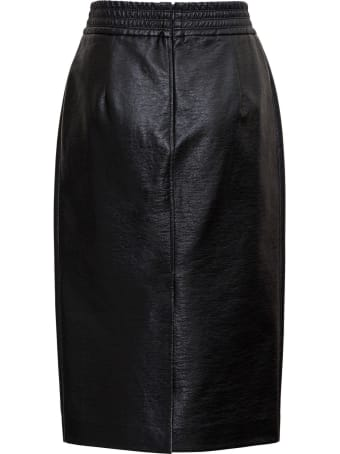 Jucca Leatheret Midi Skirt