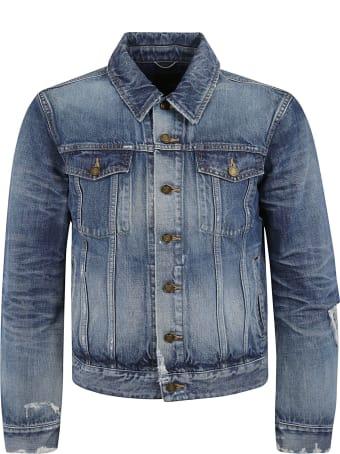 Saint Laurent Buttoned Denim Jacket