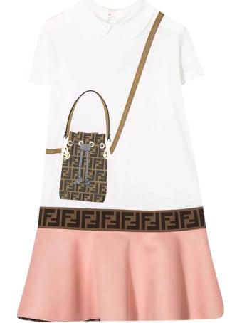Fendi Two-tone Dress