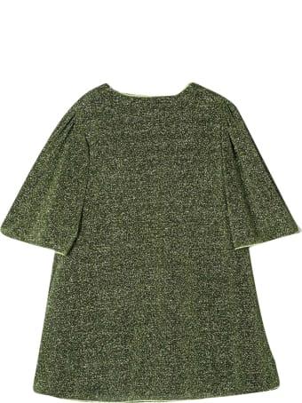 Oseree Green Glitter Dress