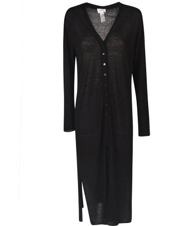 Lemaire V-neck Buttoned Long Dress