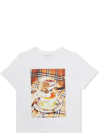 Burberry Jersey T-shirt With Front Print