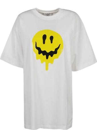 Balenciaga Melting Smiley Print T-shirt
