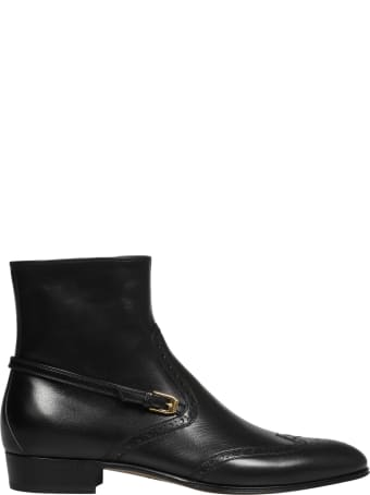 Gucci Bootie Leather Ls Quentin