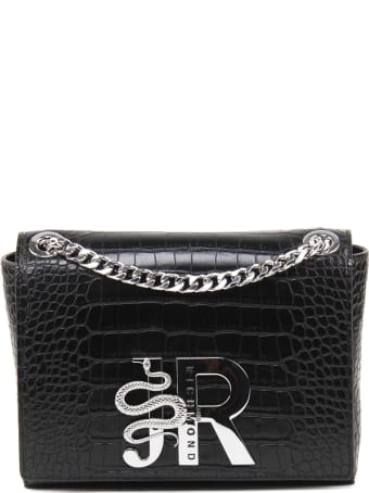 John Richmond Crocodile Effect Bag
