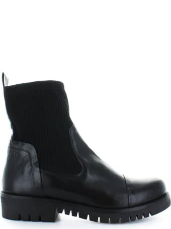 Fiori Francesi Black Sock Boots