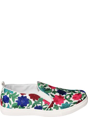 Shake Floral Embroidered Espadrillas