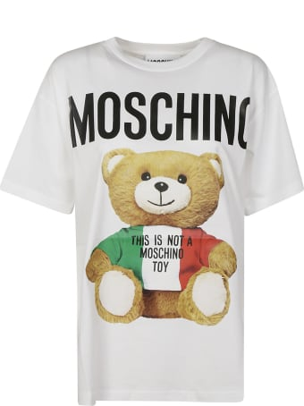 Moschino Oversized Bear Logo T-shirt
