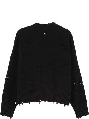 Versace Crew-neck Wool Sweater