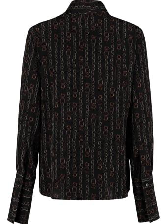 Salvatore Ferragamo Printed Silk Shirt