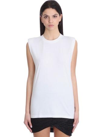 IRO Cosy Topwear In White Cotton