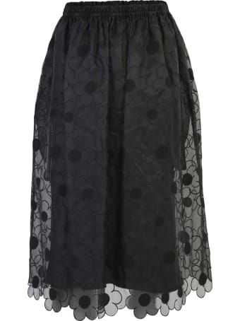 Moncler Genius Embroidered Skirt