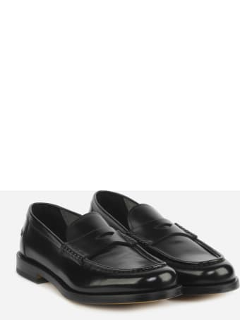Doucal's Loafers Made Of Leather