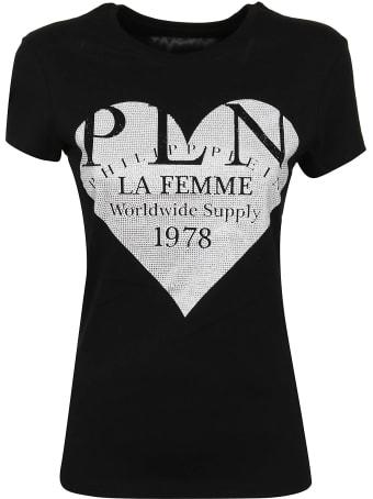 Philipp Plein T-shirt Round Neck Ss P.l.n.