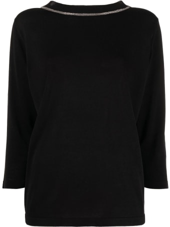 Fabiana Filippi Organic Cotton Round Neck Tee