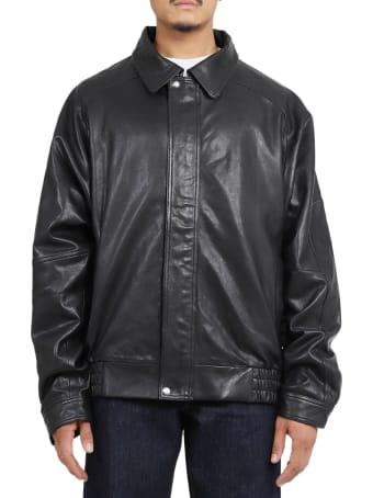 Lourdes Backless Leather Jacket