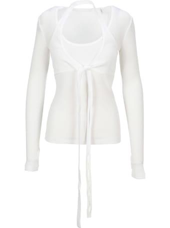Helmut Lang Wrap Long Sleeves T-shirt