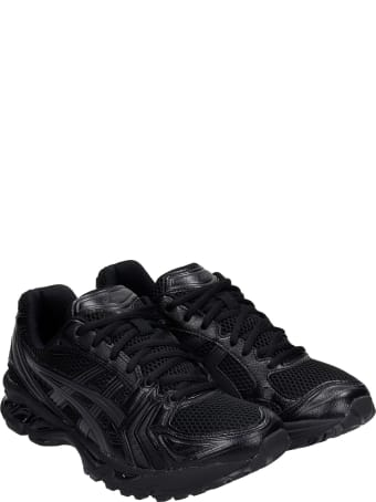 Asics Gel-kayano 14 Sneakers In Black Synthetic Fibers