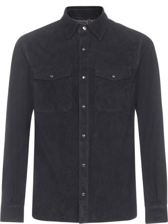 Ajmone Suede Shirt-jacket