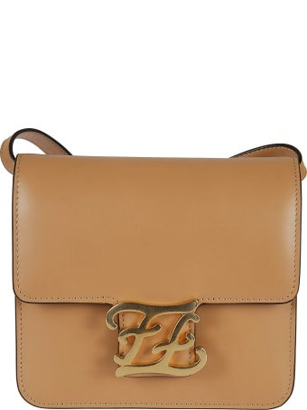 Fendi Karligraphy Shoulder Bag