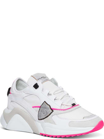 Philippe Model Eze Mondial Leather Sneakers