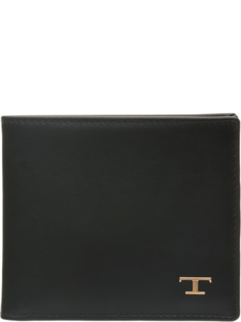 Tod's Tod's Black Wallet