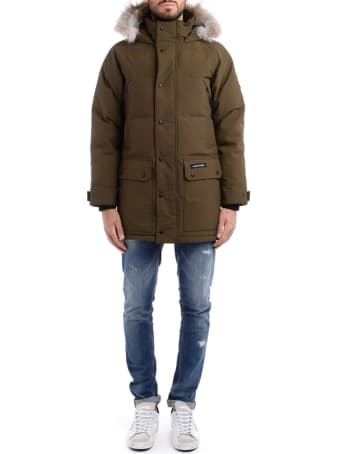 Canada Goose Parka Canada Goose Emory Army Green With Hood