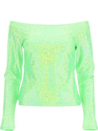 Saks Potts Herm Green Shimmer T-shirt