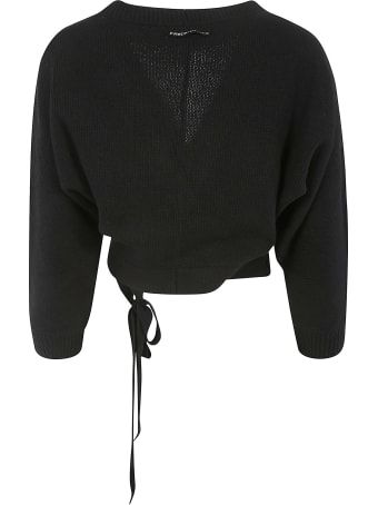 Prada Side-tie Cropped Cardigan