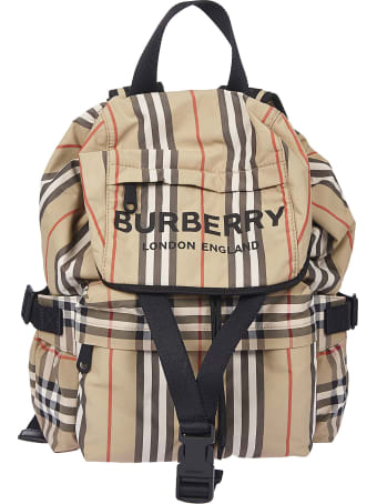 Burberry Small Check Backpack